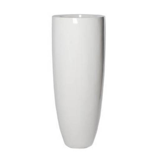 Pottery Aruba shiny white (Диаметр 50см / Высота 150см)