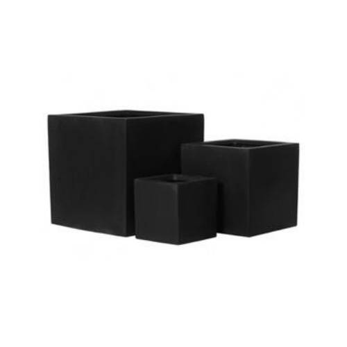 Fiberstone Mini block black (2) (Длина 40см / Ширина 40см / Высота 40см)