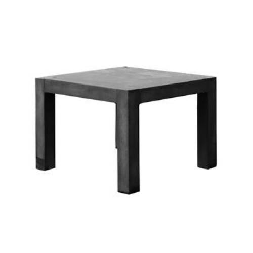Fiberstone Table black (Длина 100см / Ширина 100см / Высота 75см)