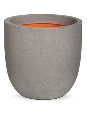 Кашпо Capi urban smooth nl egg planter iv light grey
