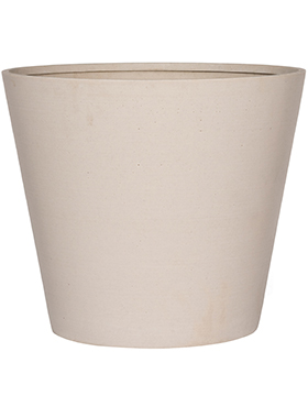 Кашпо Refined bucket natural white