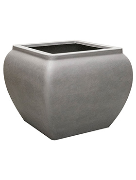 Кашпо Waterjar square grey