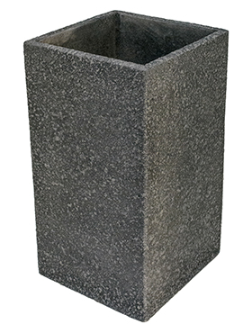 Кашпо Marc (concrete) square high anthracite
