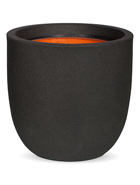 Кашпо Capi urban smooth nl egg planter ii black