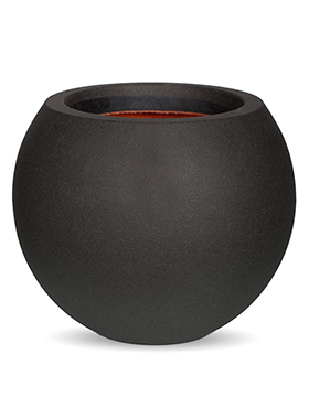 Кашпо Capi urban smooth nl vase ball ii black