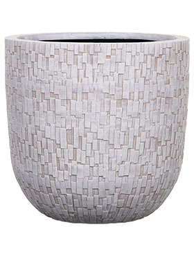 Кашпо Capi nature egg planter stone iii ivory