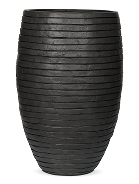 Кашпо Capi nature row vase elegant deluxe anthracite