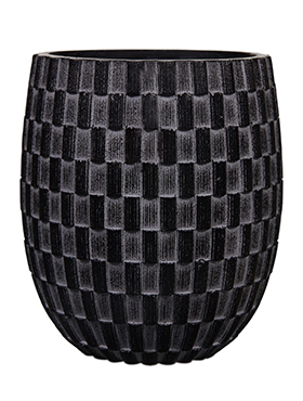 Кашпо Capi nature vase elegant high ii wave black