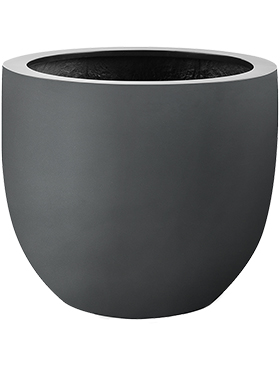 Кашпо D-lite (argento) egg pot anthracite