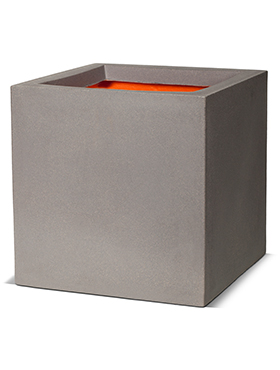 Кашпо Capi urban smooth nl pot square iii light grey