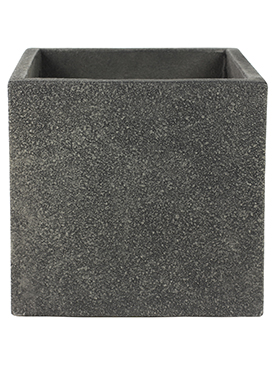 Кашпо Marc (concrete) cube anthracite