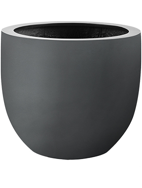 Кашпо Argento egg pot anthracite
