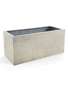 Кашпо Grigio small box antique white-concrete