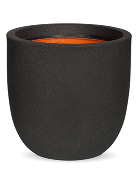 Кашпо Capi urban smooth nl egg planter iii black