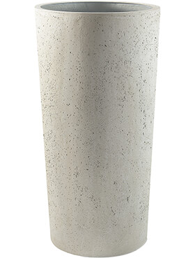 Кашпо Grigio vase tall antique white-concrete