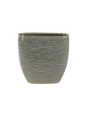 Кашпо Indoor pottery planter lotte light grey