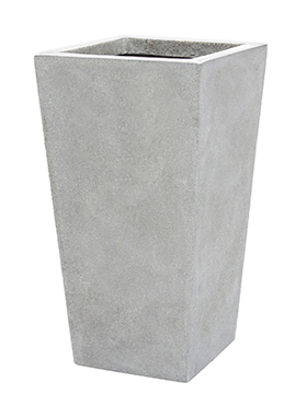 Кашпо Capi lux planter taper light grey