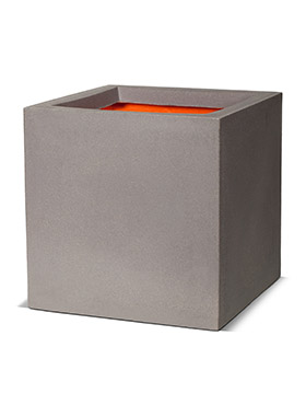 Кашпо Capi urban smooth nl pot square iv light grey