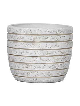 Кашпо Capi nature row pot round il ivory