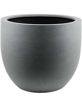 Кашпо Argento egg pot natural grey