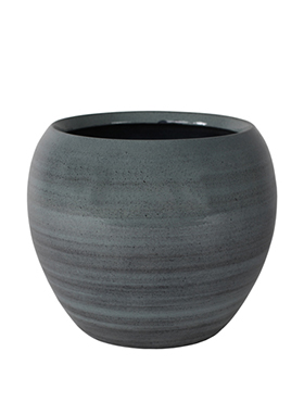 Кашпо Indoor pottery pot cresta ice blue