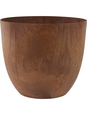 Кашпо Artstone bola pot oak