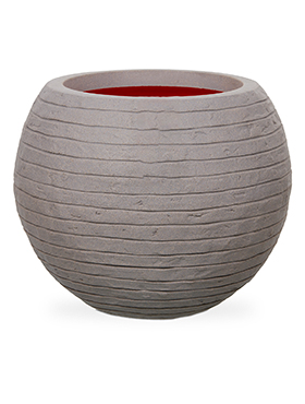 Кашпо Capi nature row nl vase vase ball grey