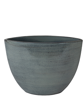 Кашпо Indoor pottery planter cresta ice blue