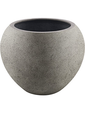 Кашпо Grigio global natural-concrete