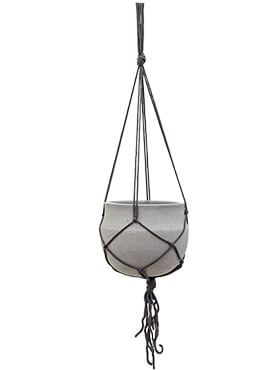 Подвесное кашпо Stone (hanging) hans light brushed