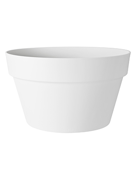 Кашпо Loft urban white bowl