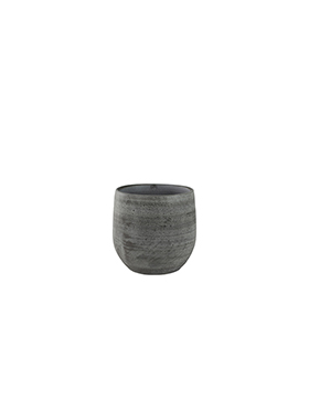 Кашпо Indoor pottery pot esra mystic grey