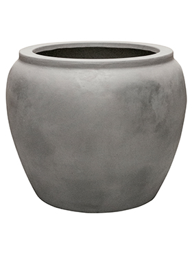 Кашпо Waterjar round grey