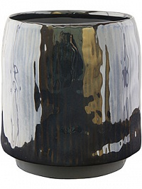 Кашпо Indoor pottery pot senne blue