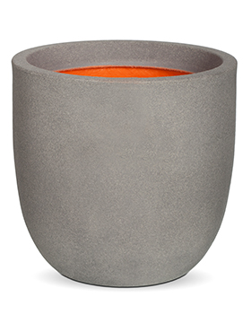 Кашпо Capi urban smooth nl egg planter ii light grey