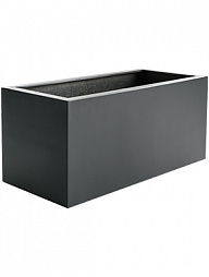 Кашпо Argento box anthracite