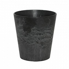 Кашпо Artstone claire pot black