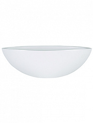 Блюдо indoor pottery cresta pure white
