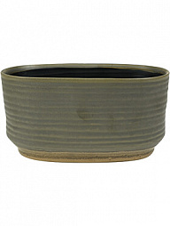 Кашпо Indoor pottery boat suze brown (per 3 шт.)