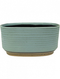Кашпо Indoor pottery boat suze blue (per 3 шт.)